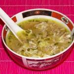 Orientalna zupa imbirowa