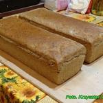 Domowy chleb na zakwasie.