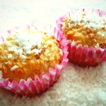 Muffinki extra kokosowe