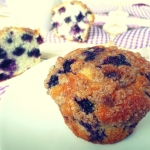 Muffiny z jagodami...