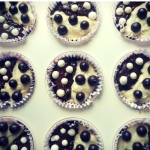 Bialo-czarne muffinki