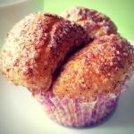 Muffinki drozdzowe z cyna...