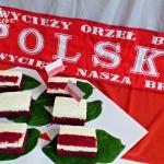 Biało-czerwone - ciasto...