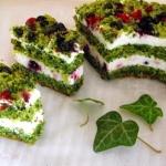 Zielono mi czyli ciasto...