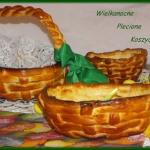 Wielkanocne Plecione kosz...