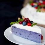 Ciasto z fioletowych...