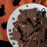 Ciasteczka czarne kotki...