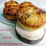 Muffiny z czekoladowo-orz...