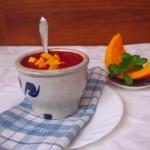Zupa z dyni i buraków