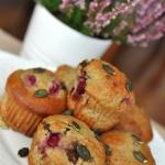 Muffiny z mąką...