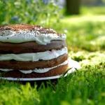 Tort czekoladowy z bitą...