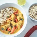Żółte curry z...