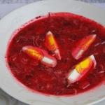 Zupa z botwinki z...