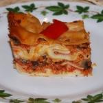 Lasagne z miesem mielonym...