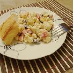 Salatka z makaronem