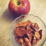 chipsy ze skórki jabłka