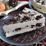 Piankowe ciasto na zimno...