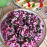 Salatka sledziowa z burak...