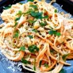 Spaghetti z cukinią i...