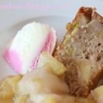 Ciasto rabarbarowe z jabl...