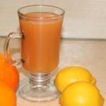 Sok z pomarańczy,...