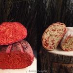 Chleb z czerwonym...