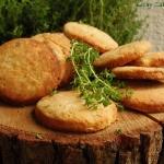 Ciasteczka sezamowe z dod...