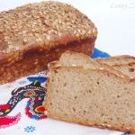 Żytni chleb z brązowym...