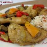 Soczysty kurczak z warzyw...