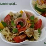 Salatka z makaronem,  szy...