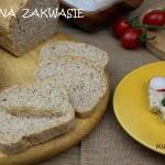 Chleb na zakwasie, z doda...