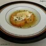 Zupa czosnkowa z jajkiem...