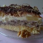 Tort orzechowo-ananasowy
