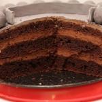 Wilgotny tort czekoladowy