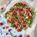 Szybka salatka z tunczyki...