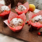 Muffinki piernikowe z jab...