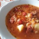 Zupa z białej kapusty i...