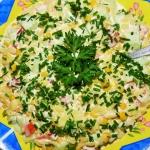 Wiosenna salatka z makaro...
