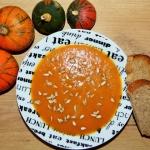 Zupa krem z pieczonej dyn...
