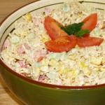 Szybka salatka z zupek ch...