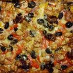 Pizza z kurczakiem,...