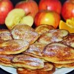 Racuchy z jabłkami z...
