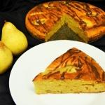 Marcepanowe ciasto z grus...