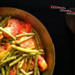 Smazone pomidory z fasolk...
