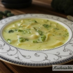 Zupa serowa zbrokułami