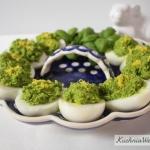 Jajka faszerowane pasta c...