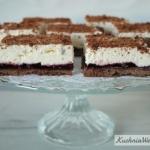 Kruche ciasto czekoladowe...