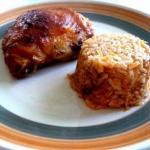 Udka pieczone na ryżu