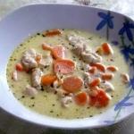 Zupa serowa z kurczakiem