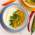 Curry z papają i...